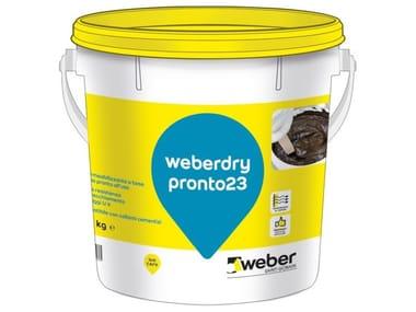 Guaina impermeabilizzante liquida WEBERDRY PRONTO23