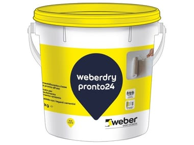 Guaina liquida impermeabilizzante WEBERDRY PRONTO24