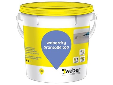 Impermeabilizzante a base elastomerica WEBERDRY PRONTO24 TOP