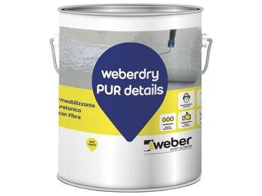 Membrana impermeabilizzante liquida WEBERDRY PUR DETAILS