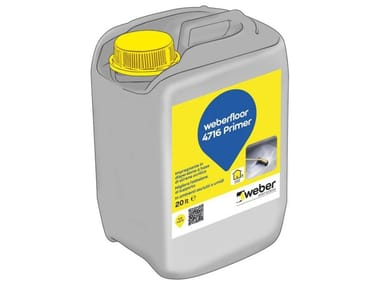 Primer polivalente a base di resine WEBERFLOOR 4716 PRIMER