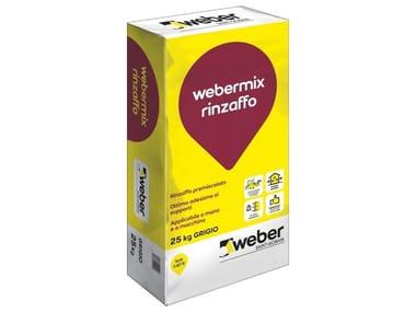 Rinzaffo cementizio premiscelato WEBERMIX RINZAFFO