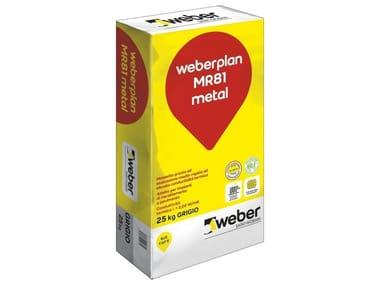 Massetto pronto ad essiccazione medio-rapida WEBERPLAN MR81 METAL