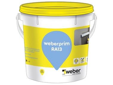 Preparatore di sottofondo a base acqua WEBERPRIM RA13