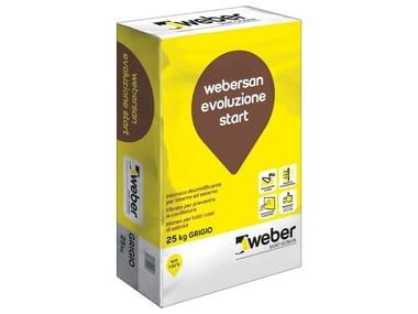 Intonaco da risanamento WEBERSAN EVOLUZIONE START