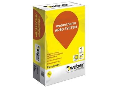 Adesivo-rasante WEBERTHERM AP60 SYSTEM