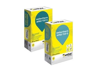 Adesivo-rasante ad alte prestazioni WEBERTHERM AP60 TOP G