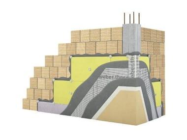 Exterior insulation system WEBERTHERM COMFORT G3
