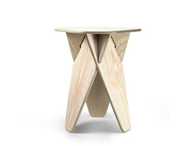 Plywood stool / coffee table WEDGE