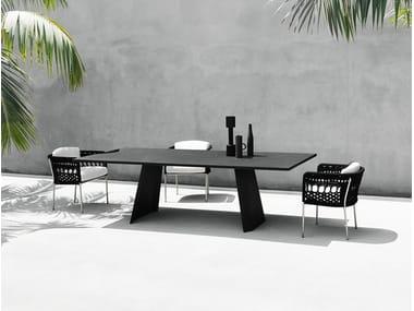 Rectangular table WEDGE