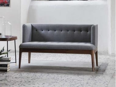 Tufted fabric small sofa WENDY | Small sofa
