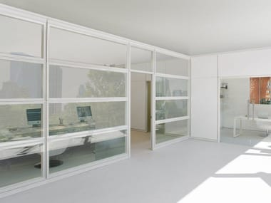 Glass office partition WEST