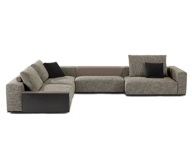 Sectional fabric sofa WESTSIDE | Sofa