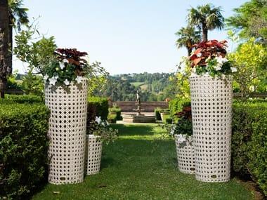 Vaso da giardino fatto a mano in resina WEZEN | Vaso da giardino