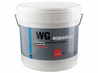Guaina liquida ad asciugamento rapido fibrorinforzata WG_acquastop