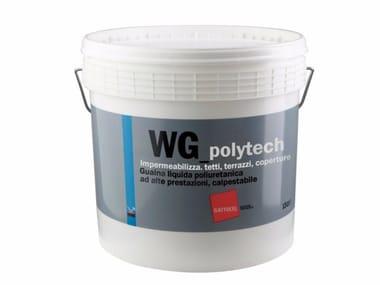 Guaina liquida poliuretanica calpestabile WG_polytech