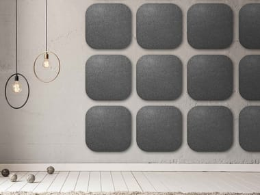Pannello acustico a parete in lana WHISPERWOOL APPS   Pannello acustico a parete