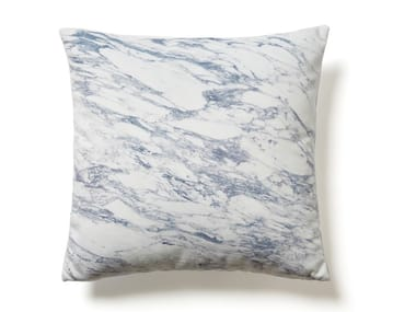 Square cushion WHITE ARABESCATO MARBLE