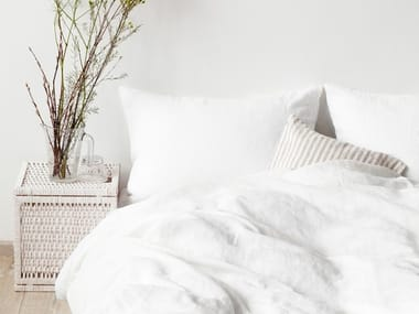 Washed linen Bed Set WHITE | Bedding set