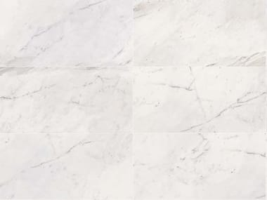 Porcelain stoneware wall/floor tiles with marble effect WHITE EXPERIENCE Statuario