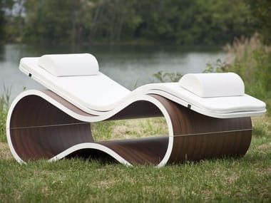 Chaise longue WHITE MAMBA