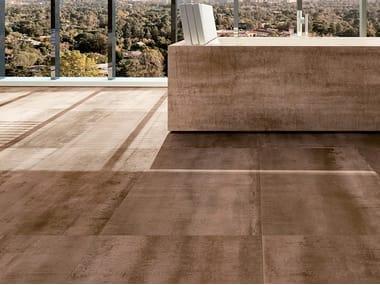 Indoor full-body porcelain stoneware wall/floor tiles with concrete effect WI.SH   Indoor wall/floor tiles