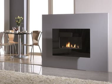 Gas fireplace with catalytic technology WIDE 41