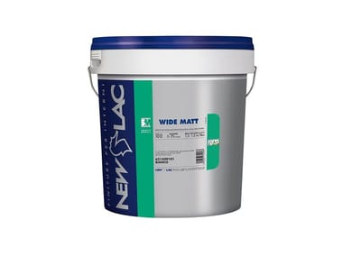 Smalto murale all'acqua WIDE MATT