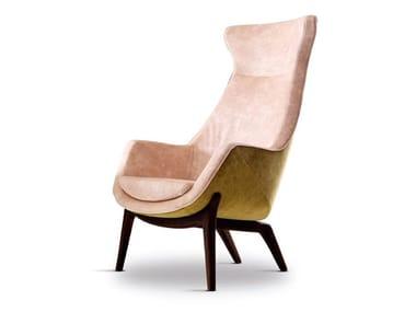 High-back armchair WILDE   Armchair