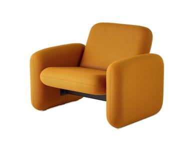 Fabric armchair with armrests WILKES   Armchair