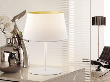 Fabric table lamp WILLER