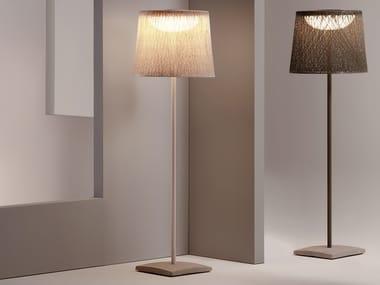 Lampada da terra per esterno fluorescente WIND 4057