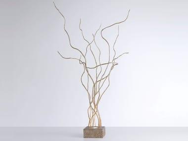 Lampada da tavolo alogena in bronzo WIND | Lampada da tavolo