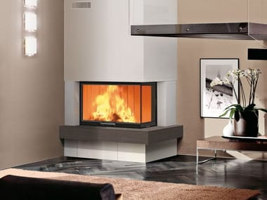 Double-sided wood-burning fireplace WINDO2 75/95