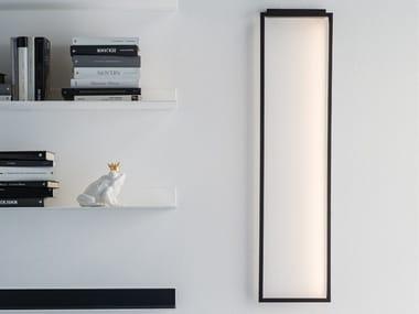 Lampada da parete a LED a luce indiretta in metallo WINDOW
