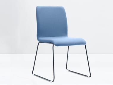 Sled base stackable chair WING 900-FP