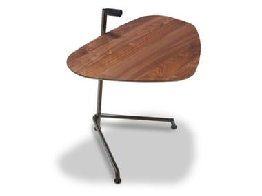 Walnut side table WING | Side table