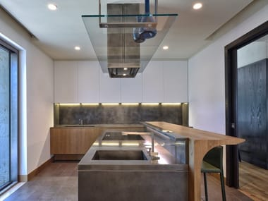 Custom steel kitchen WING | Kitchen