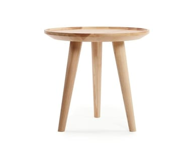 Round ash coffee table WING | Coffee table