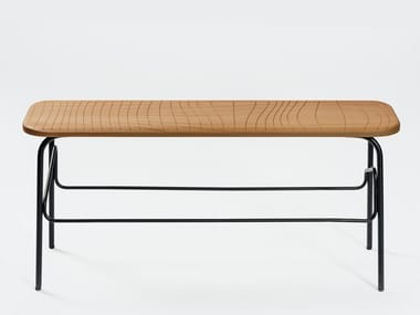 Contemporary style steel bench WIREFRAME | Bench