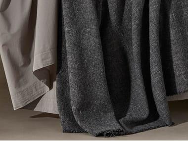 Solid-color wool blanket WOCA