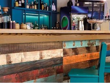 Indoor wooden wall tiles WOOD DECK