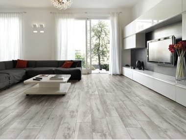 Pavimento/rivestimento in gres porcellanato effetto legno WOOD RELIVE