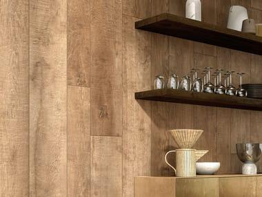 Pavimento/rivestimento in gres laminato effetto legno WOODLAND - ARDEN