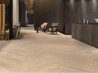 Pavimento/rivestimento in gres laminato effetto legno WOODLAND - ATLANTIC