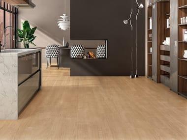 Pavimento/rivestimento in gres laminato effetto legno WOODLAND - BOREAL