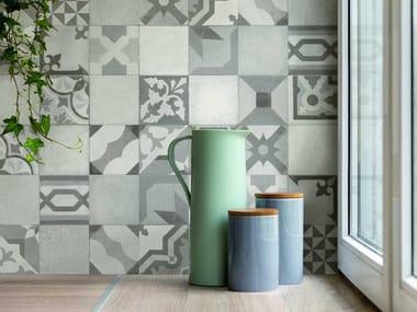 Rivestimento in ceramica effetto cemento WORK | Decoro Vintage Grey