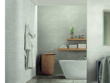 Rivestimento in ceramica effetto cemento WORK | Grey