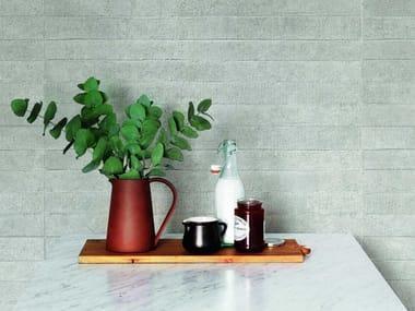 Rivestimento in ceramica effetto cemento WORK | Mold 3D Grey