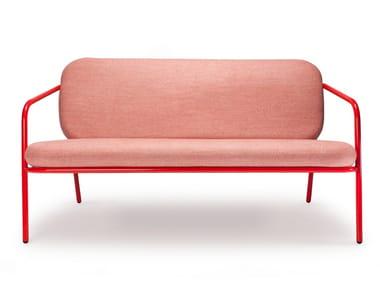 Fabric small sofa WORKING GIRL | Small sofa